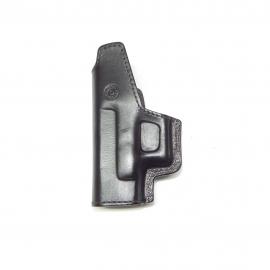 Coldre de Couro Velado Pistola Glock G28, G26, G27 e G33