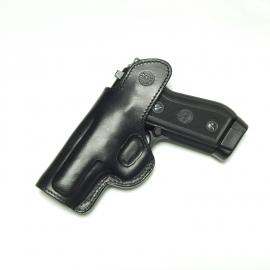 Coldre de Couro Velado Pistola Taurus 58 e PT 57