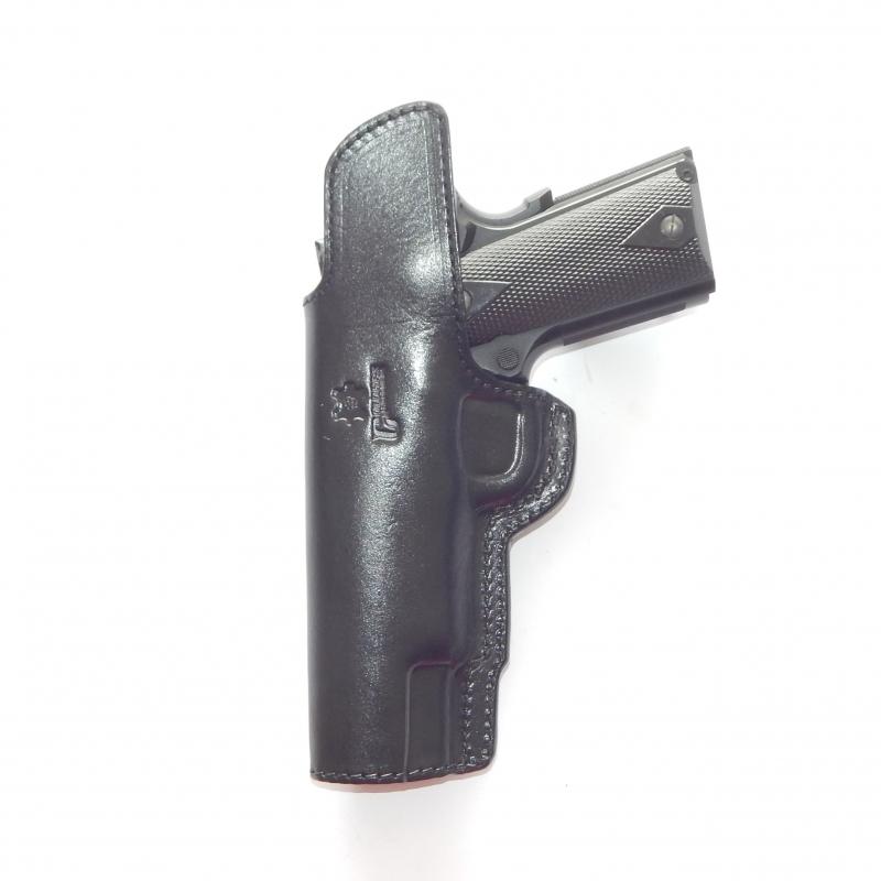 Coldre de Couro Velado Pistola Imbel MD2LX e MD7LX