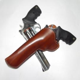 Coldre de Couro Ostensivo para Revólver Taurus 608 8 Tiros 6,5 Polegadas