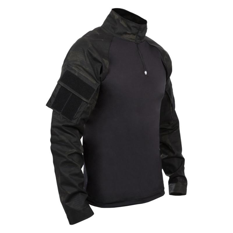 Combat Shirt Bravo Militar - Multicam Black