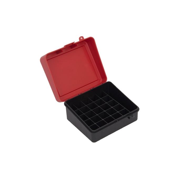 Caixa para Cartucho Plano (1216-01) para 25 Unid - 12 GA e 16 GA