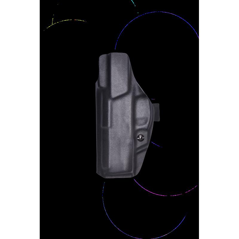 Coldre de Kydex Velado Pistola Taurus 809, 838, 840, TH 380, TH 40 e TH9 - Preto