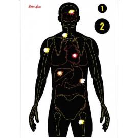 Alvo Reativo - Órgãos Reagentes - Super Alvos - 10 Unidades