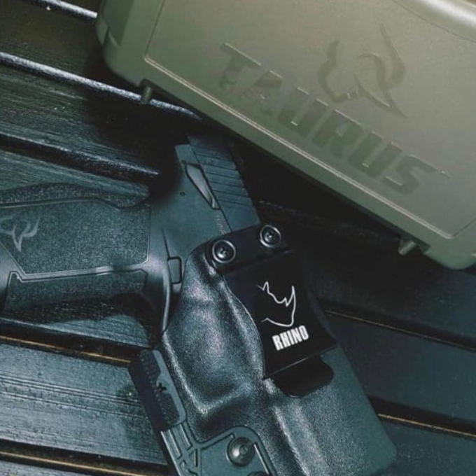 Coldre de Kydex Velado Pistola Taurus TX22