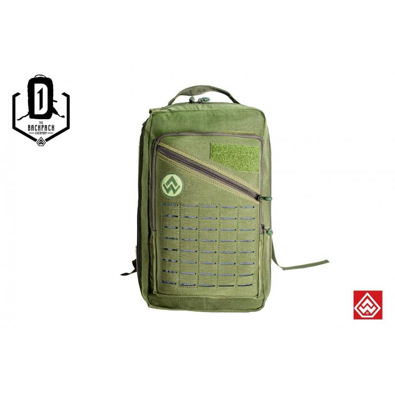 Mochila 1D Warefare - Verde