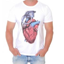 Camiseta 308 Coração Granada