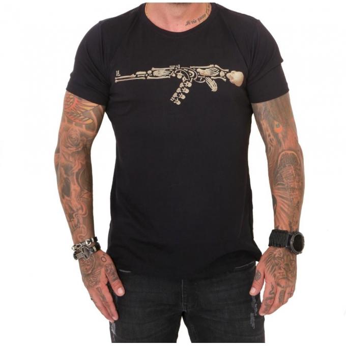 Camiseta 308 Skeleton Gun
