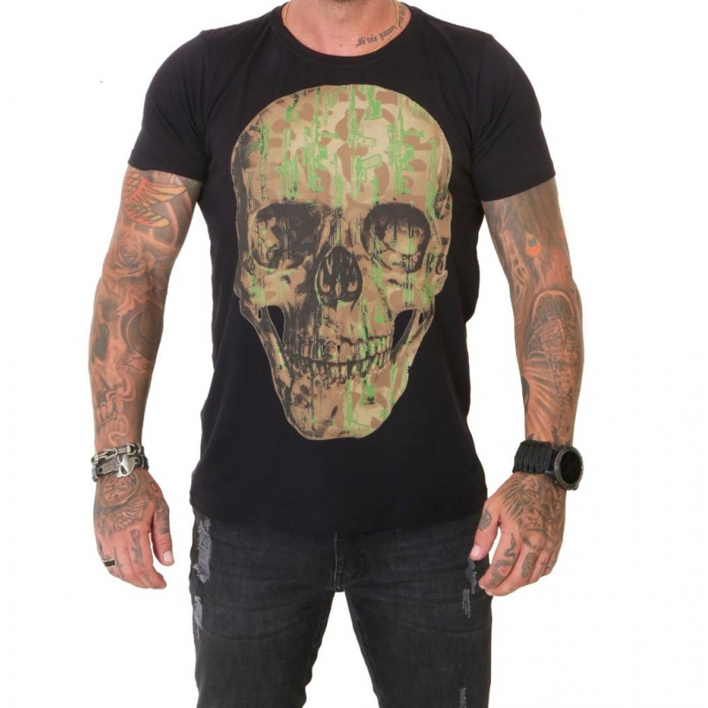Camiseta 308 Skull