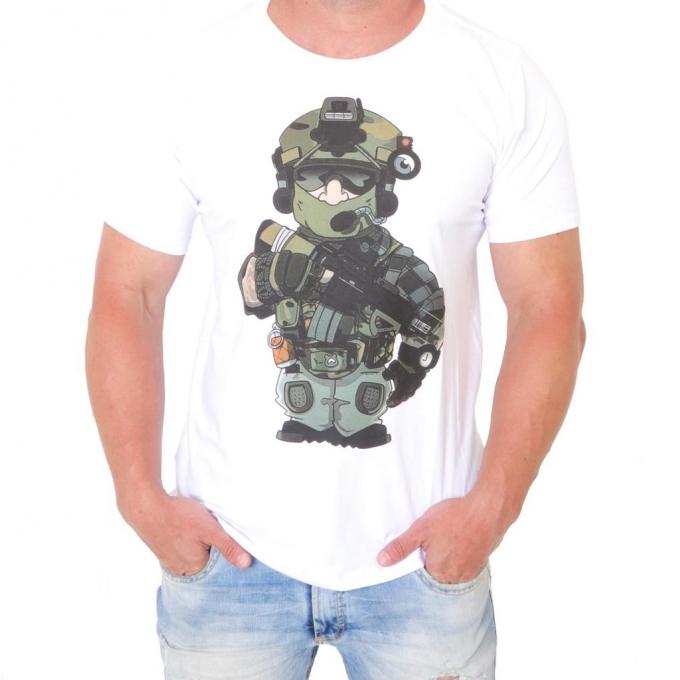 Camiseta 308 Soldado Ilustra