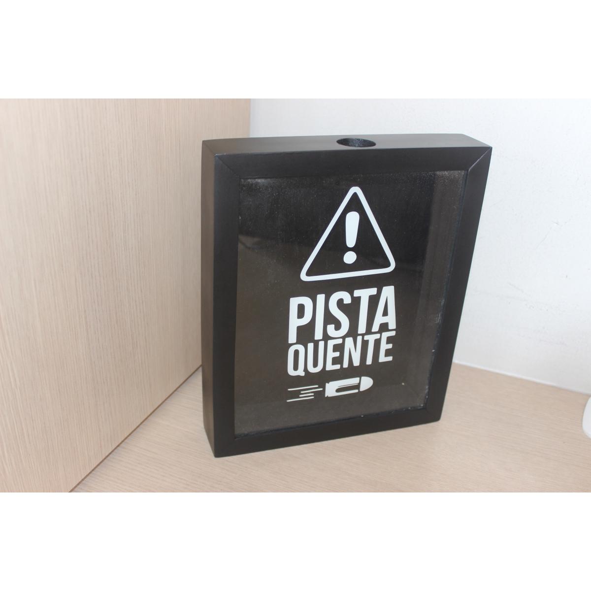 Quadro Decorativo Porta Cápsulas - PISTA QUENTE